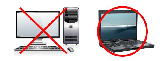 デスクトップVSノートパソコン